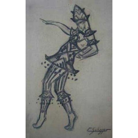 Projet de costume pour Shéhérazade