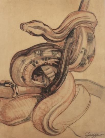 Gaston SUISSE (1896-1988) - Python