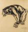 Gaston SUISSE (1896-1988) - Macaque