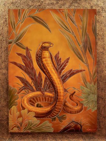 Gaston SUISSE (1896-1988) - Cobra. 1944.