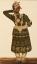 Gaston SUISSE (1896-1988) - Danseur indien en tenue traditionnelle. Vers 1932.