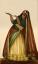 Gaston SUISSE (1896-1988) - Danseuse indienne en tenue traditionnelle. Vers 1932.