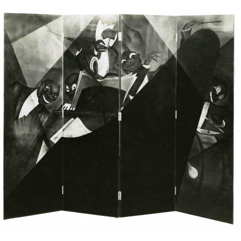 Paravent Jazz, 1929.