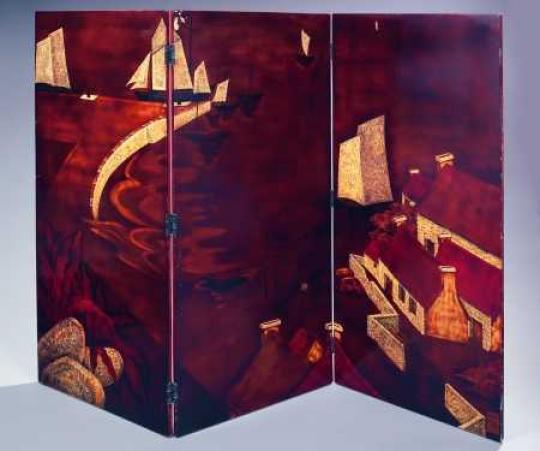 Gaston SUISSE (1896-1988) - Port breton. Vers 1926.
