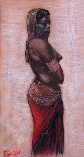 Gaston SUISSE (1896-1988) - Africaine