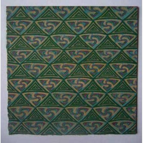 Projet de tissu pour Mme Duchesne, vers 1923
