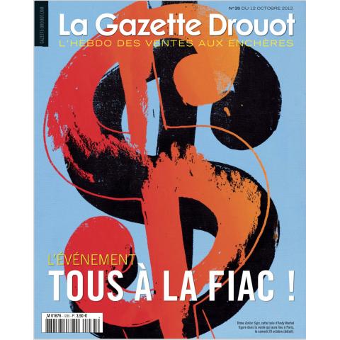 La Gazette de Drouot N°35, pages 16 et 60. - La Gazette de Drouot